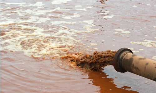 Wastewater Released to Environment