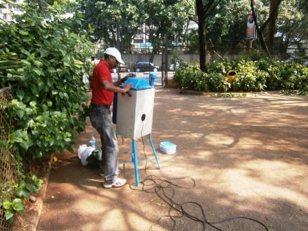 Ambient air Sampling