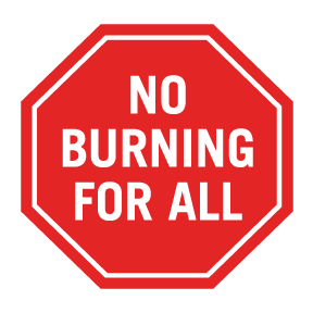 NoBurning - How to reduce particulate matter pm10 pm2.5