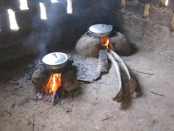 Indoor air pollution - Traditional cooking method